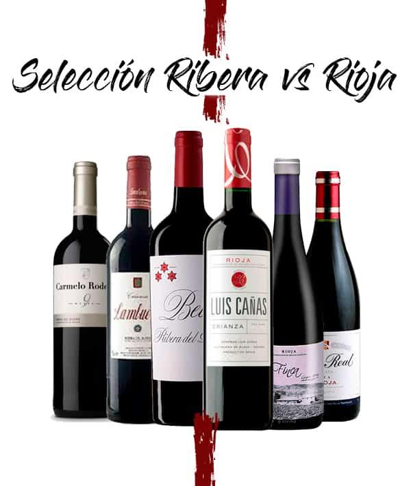 Selección Ribera del Duero versus Rioja Terravino